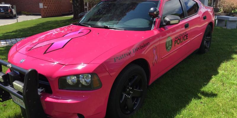 Hope, our Breast Cancer Awareness Pink Cruiser